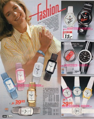 Armbanduhren Quelle Katalog 1987 Achtziger Forum