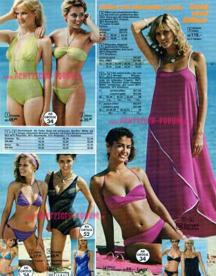 Bade Strandmode Otto Katalog 1982 Achtziger Forum